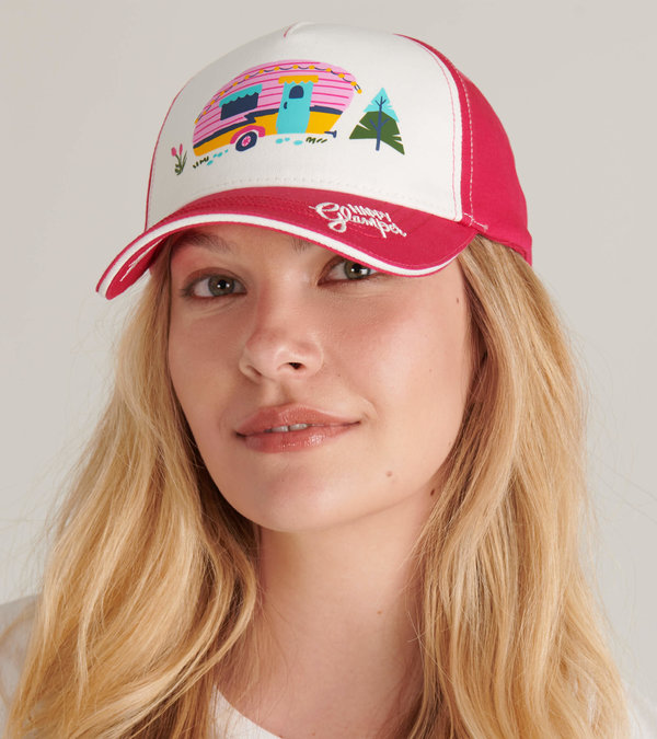 Happy Glamper Adult Baseball Cap