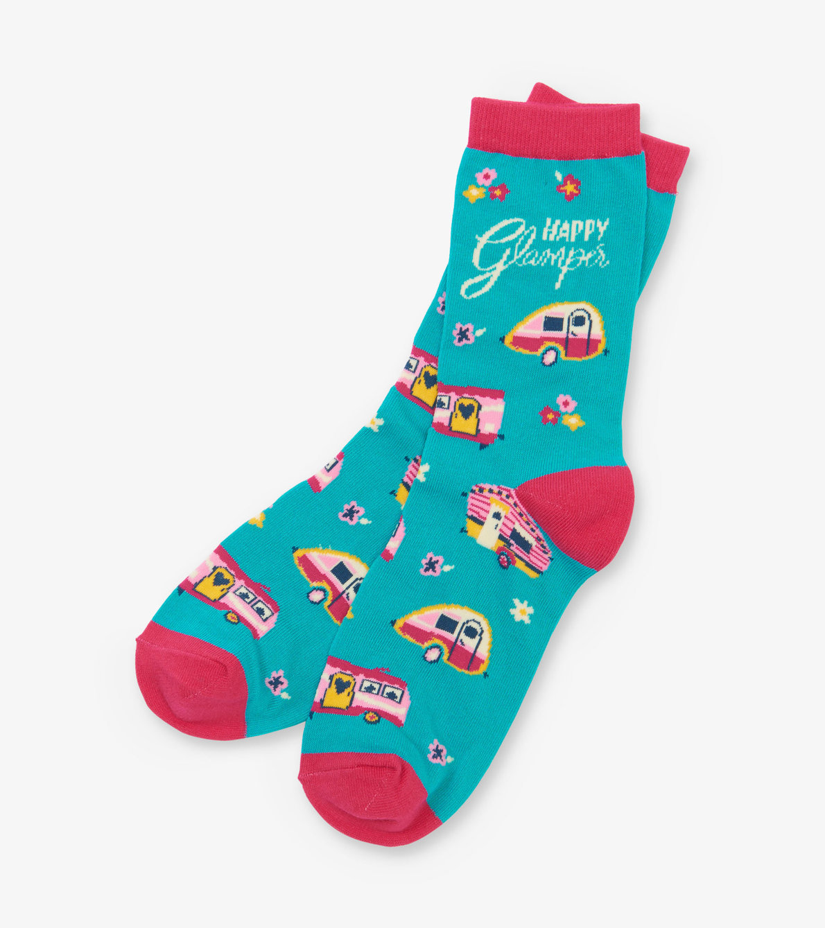 View larger image of Happy Glamper Women's Crew Socks