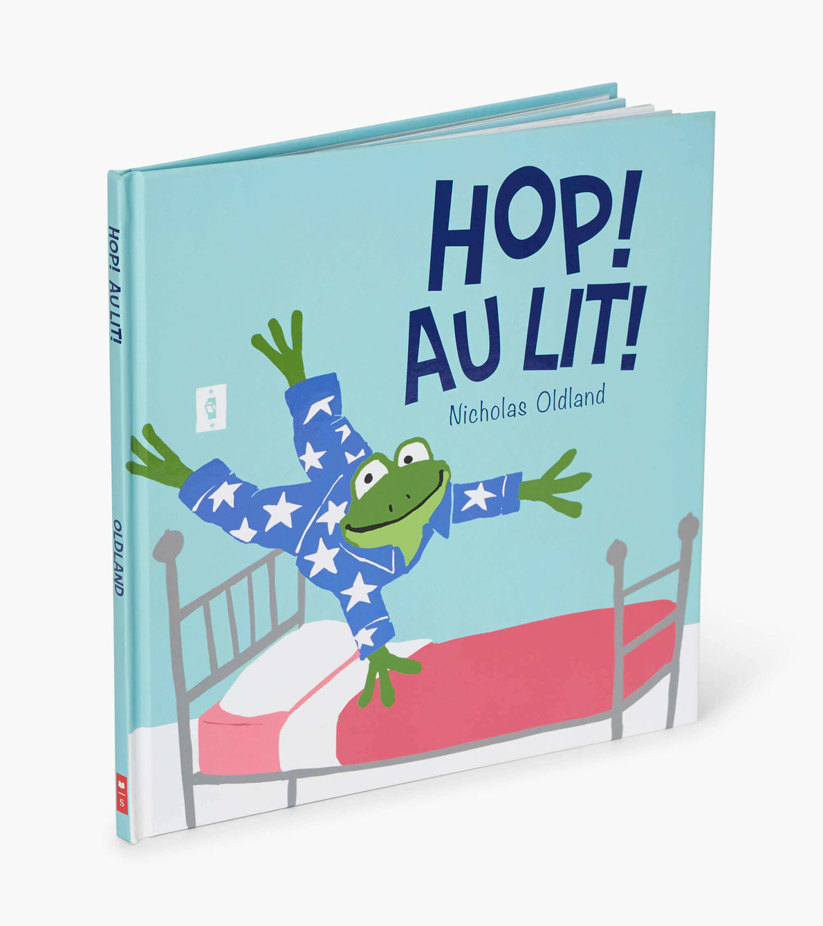"""View larger image of """"Hop ! Au lit !"""" French Children's Book"""
