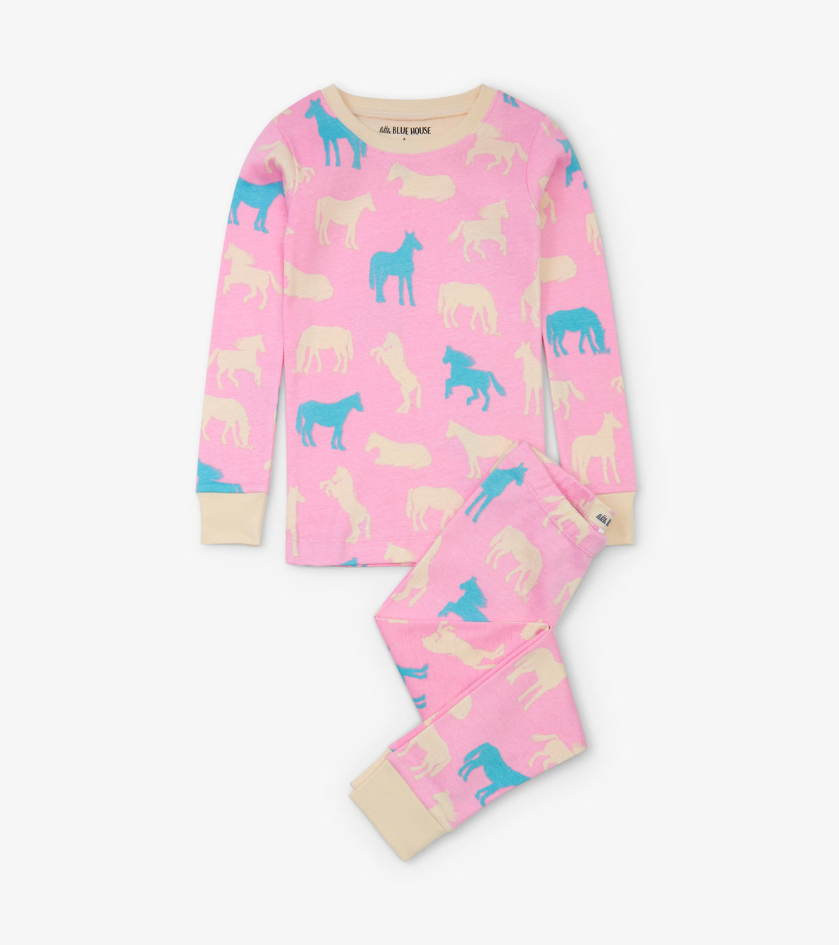 View larger image of Horse Silhouettes Kids Pajama Set
