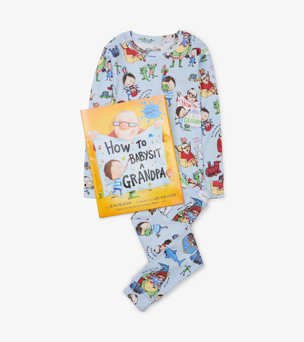 How to Babysit a Grandpa Book and Pajama Set