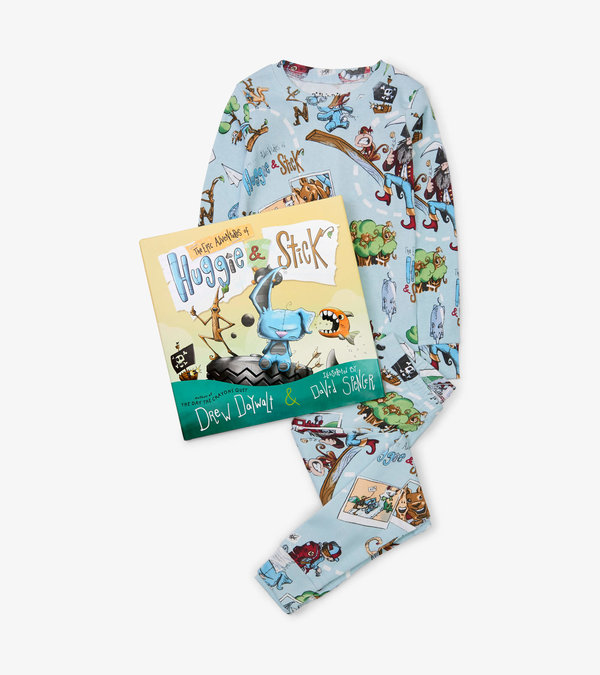 Huggie & Stick Book and Pajama Set