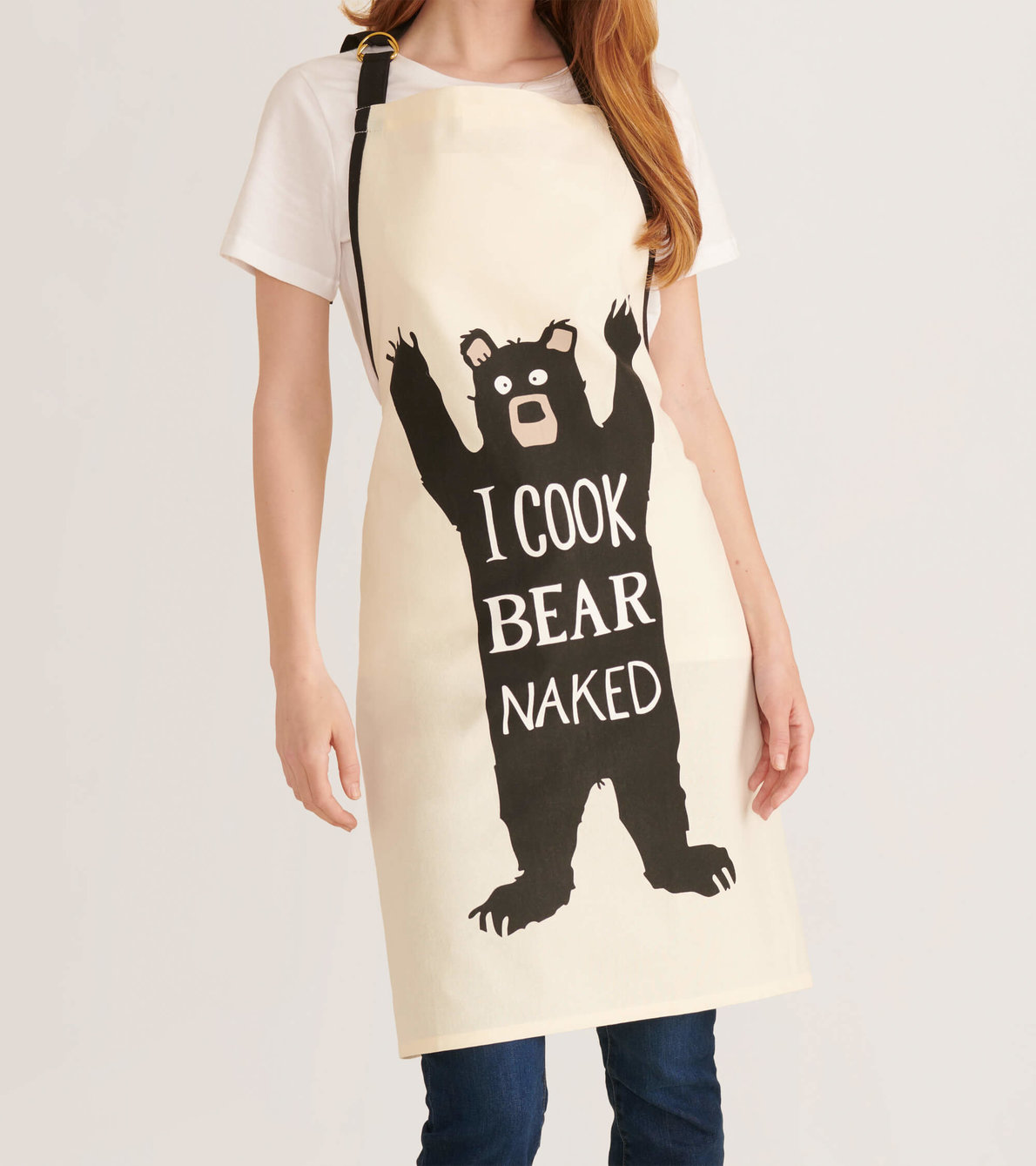 View larger image of I Cook Bear Naked Apron