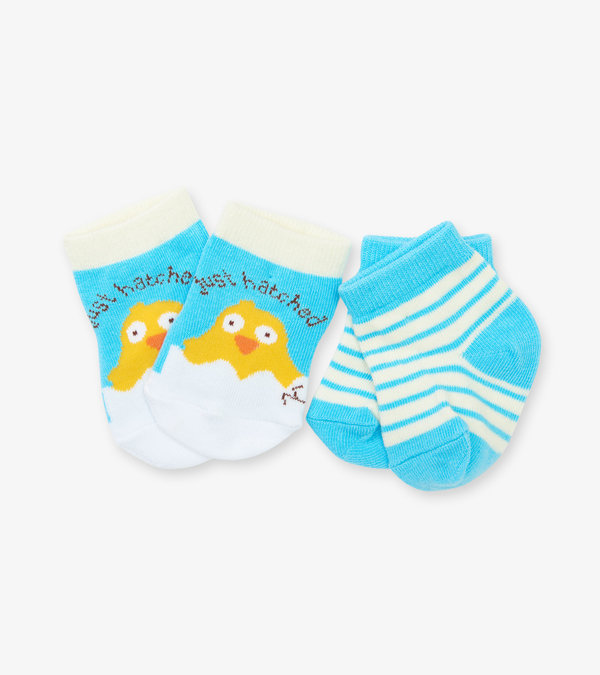 Just Hatched 2-Pack Baby Socks