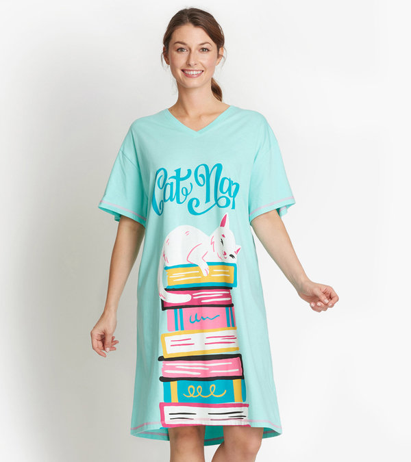 Cat Nap Women's Sleepshirt
