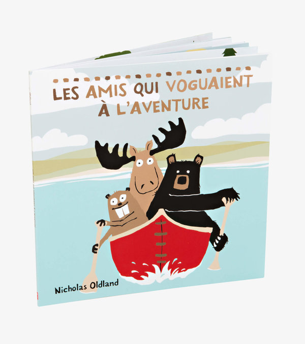 ''Les amis qui voguaient à l'aventure'' French Children's Book