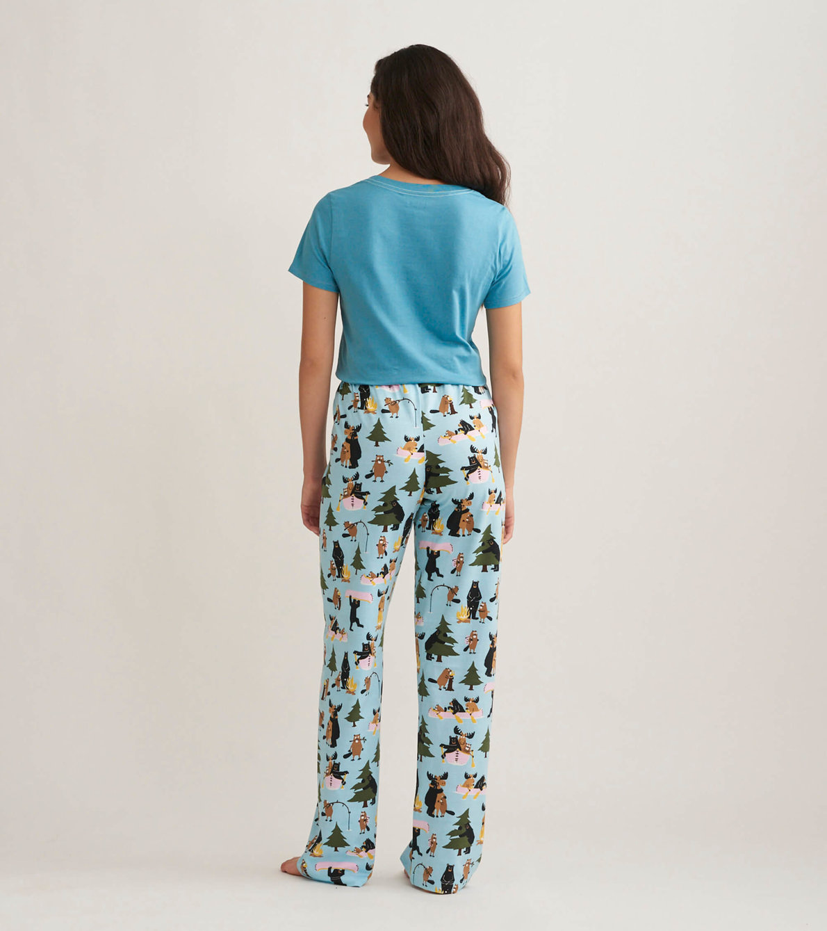 View larger image of Life in the Wild Women's Jersey Pajama Pants