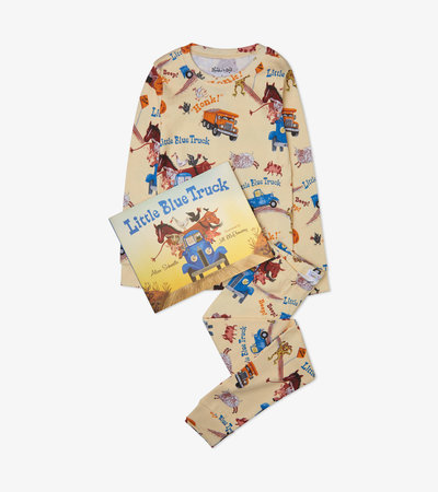 Little Blue Truck Book and Pajama Set
