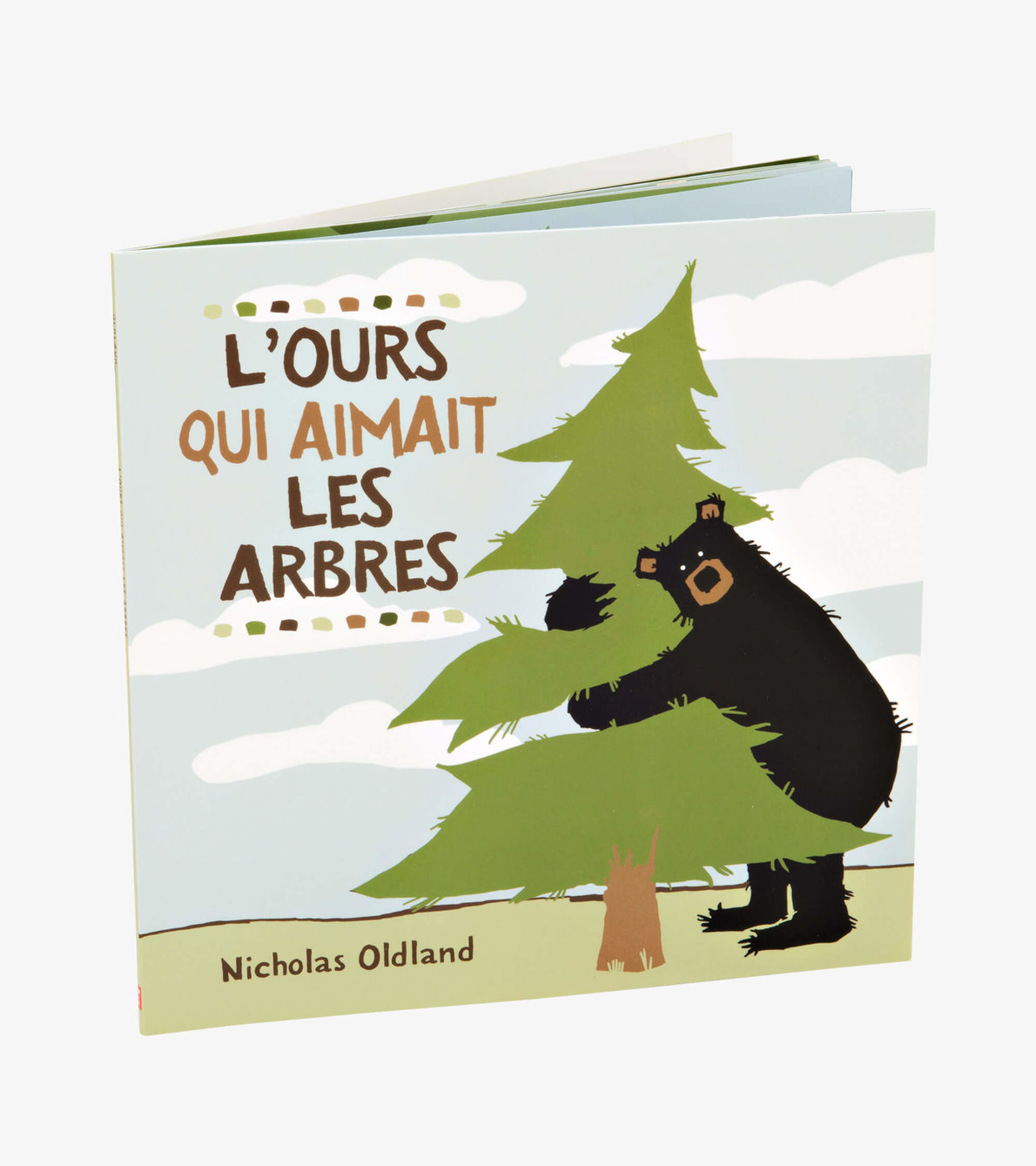 View larger image of ''L'ours qui aimait les arbres'' French Children's Book