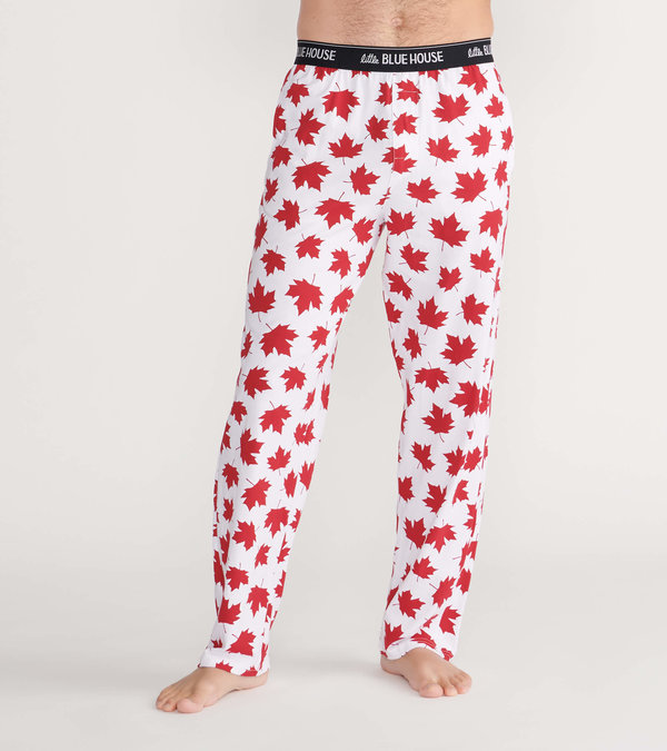 Made In Canada Men's Jersey Pajama Pants