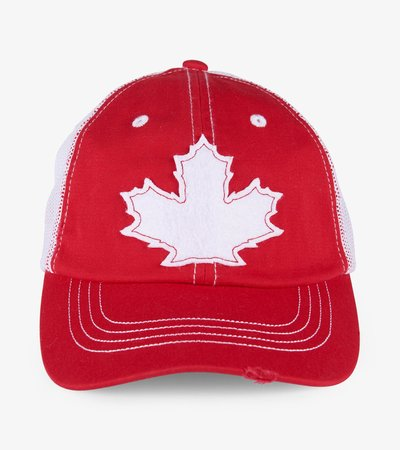 Maple Leaf Kids Baseball Cap