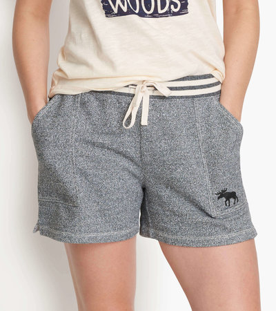 Marled Grey Moose Women's Heritage Shorts