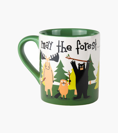 May the Forest be with You Ceramic Mug
