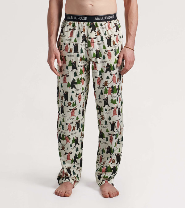 Pantalon de pyjama en jersey pour homme – « May The Forest Be With You »