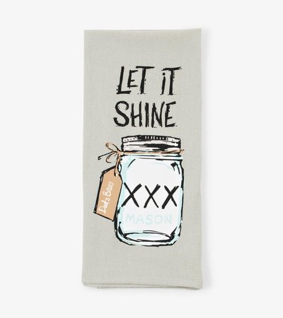 Moon Shine Tea Towel