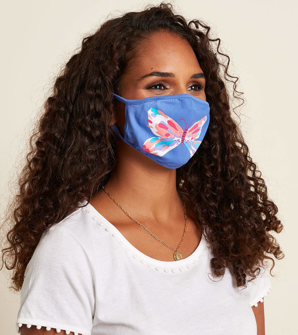 Non-Medical Reusable Adult Face Mask - Butterfly