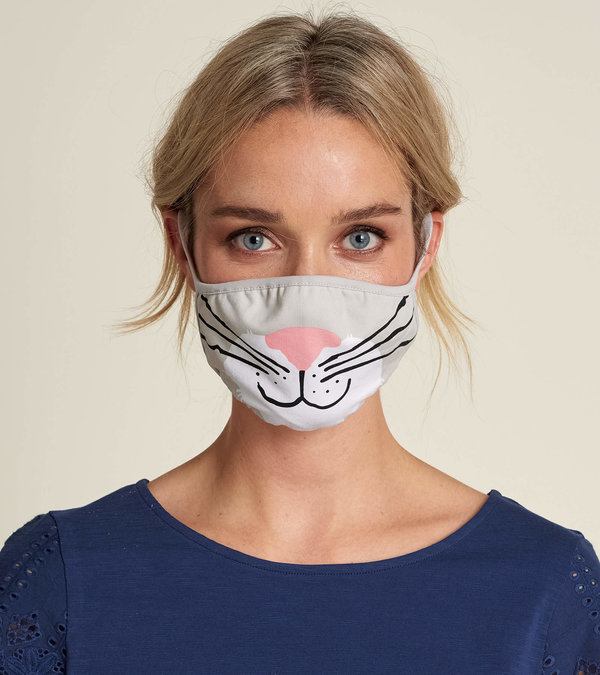 Non-Medical Reusable Adult Face Mask - Cat