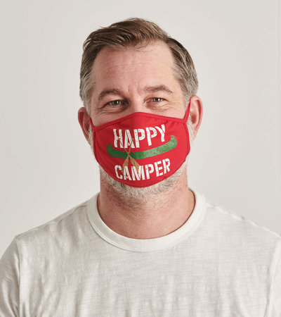 Non-Medical Reusable Adult Face Mask - Happy Camper