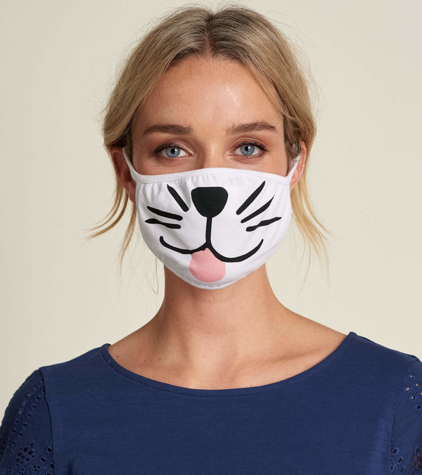 Non-Medical Reusable Adult Face Mask - Puppy