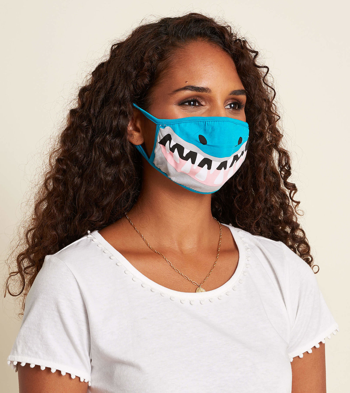 View larger image of Non-Medical Reusable Adult Face Mask - Shark