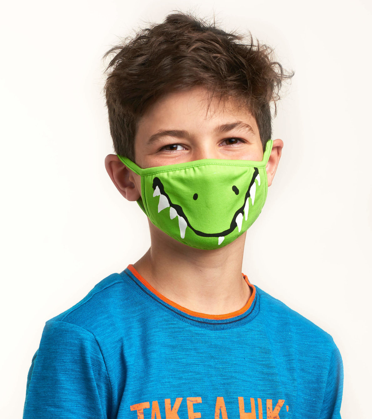 View larger image of Non-Medical Reusable Toddler Face Mask (ages 2-5) - Crocodile