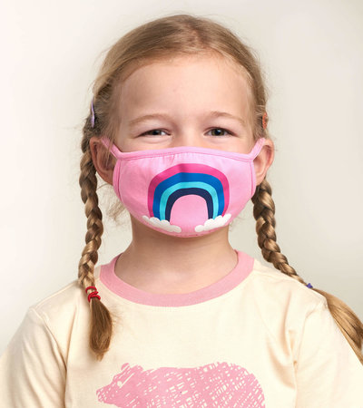 Non-Medical Reusable Youth Face Mask (ages 6-10) - Rainbow