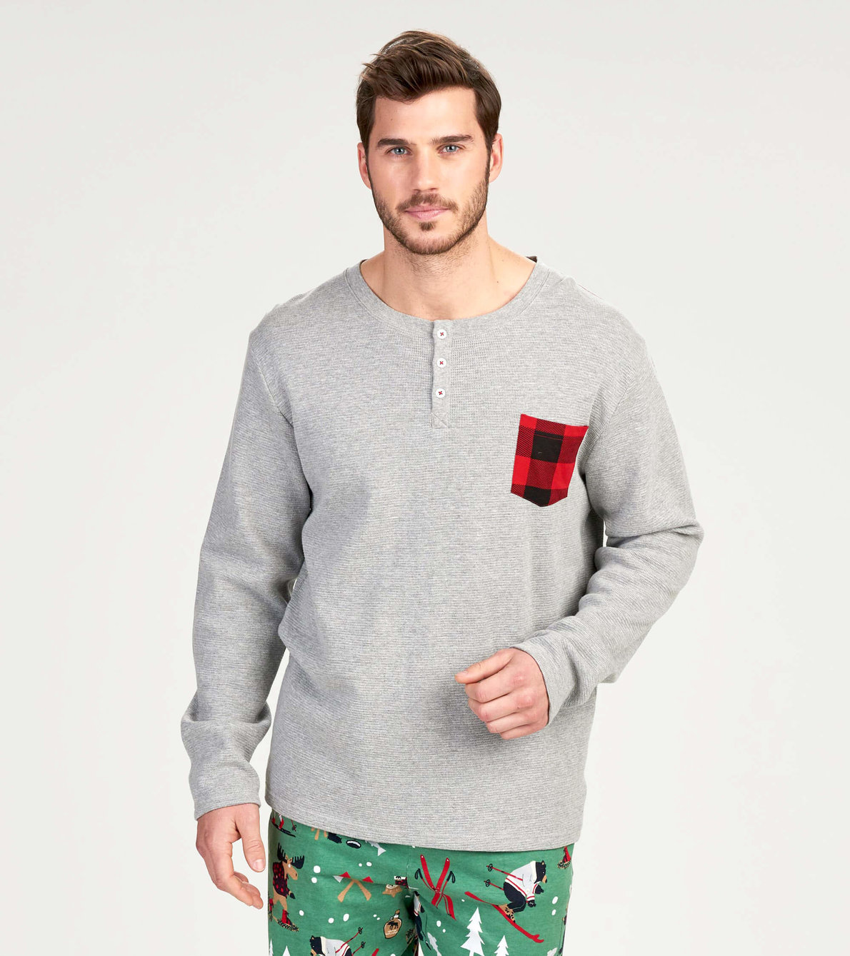 View larger image of Northern Winter Men's Waffle Henley