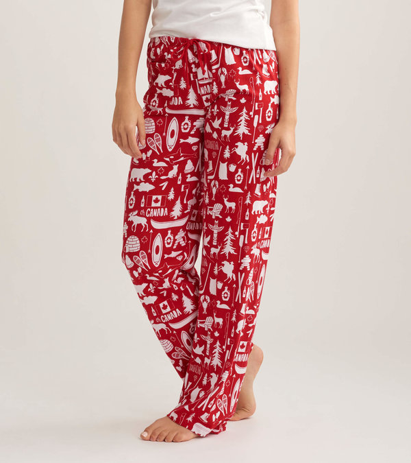 Oh Canada Women's Jersey Pajama Pants