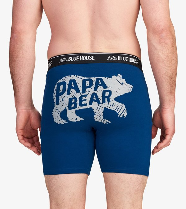 Papa Bear Men's Boxer Briefs