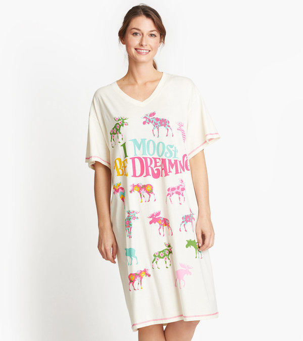 I Moose Be Dreaming Women's Sleepshirt