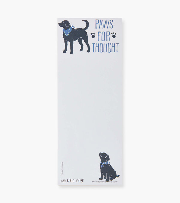 Paws for Thought Magnetic List