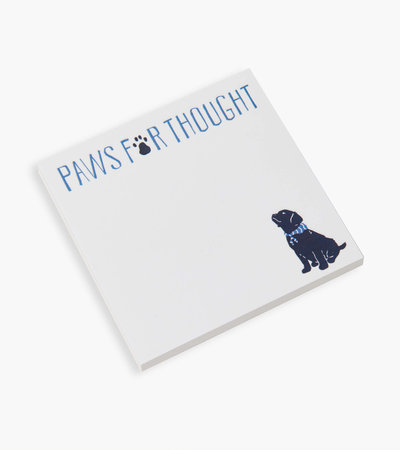 Paws For Thought Sticky Notes