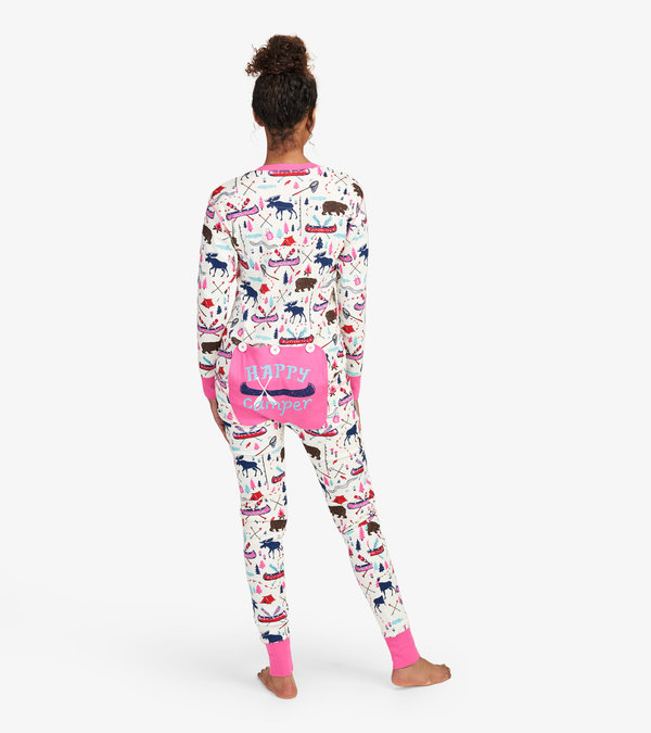 Pretty Sketch Country Adult Union Suit