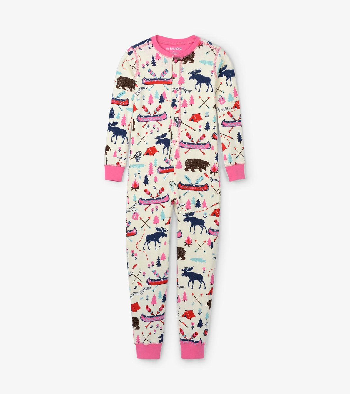 View larger image of Pretty Sketch Country Kids Union Suit