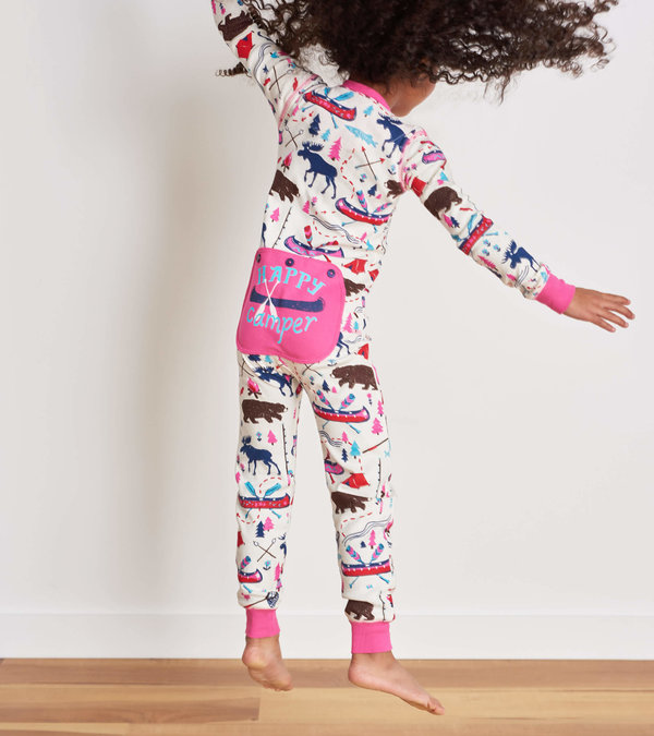 Pretty Sketch Country Kids Union Suit