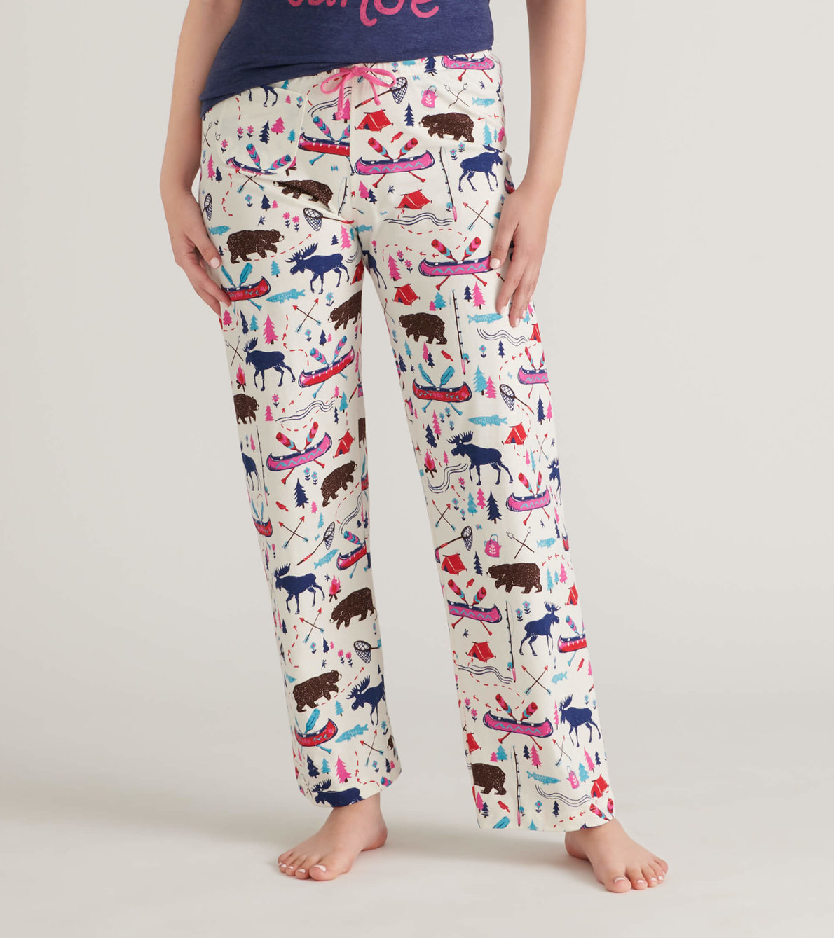 View larger image of Pretty Sketch Country Women's Jersey Pajama Pants