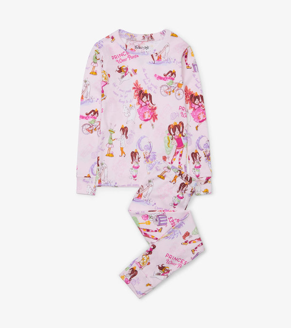 Princesses Wear Pants Pajama Set