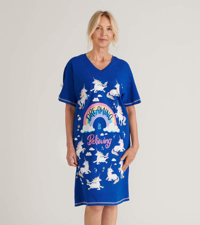 Dreaming is Believing Women's Sleepshirt