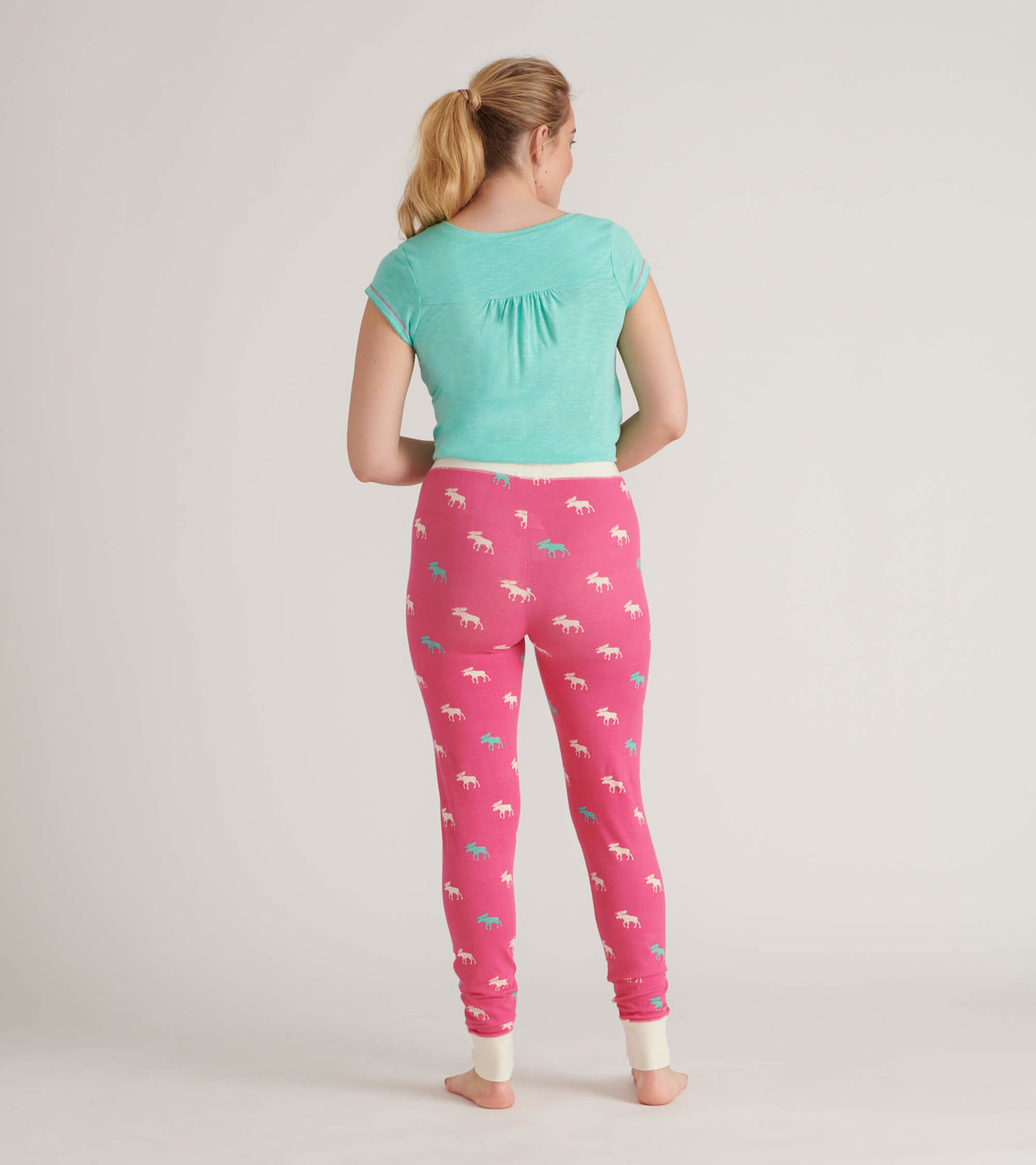 View larger image of Raspberry Moose Women's Sleep Leggings