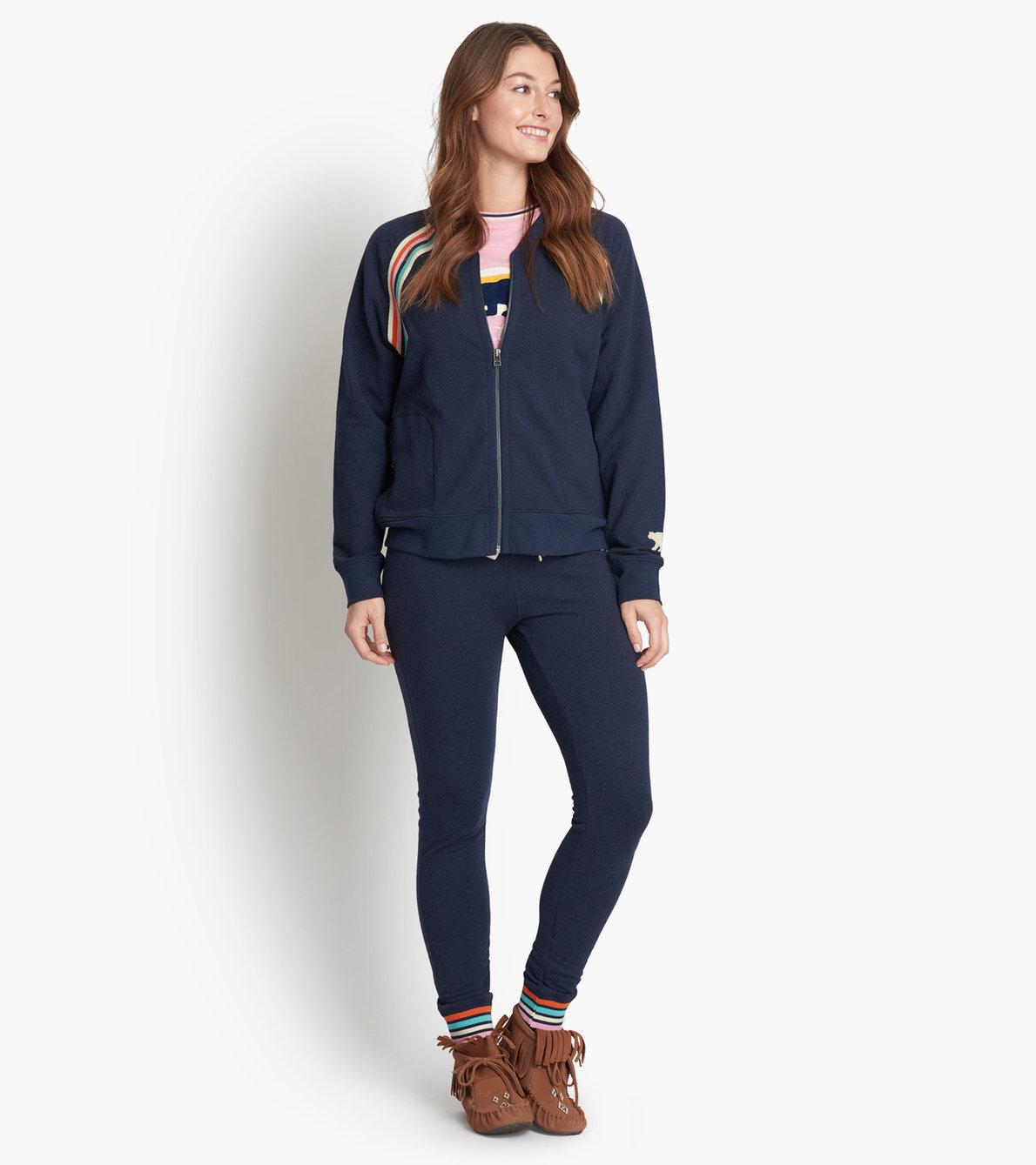 View larger image of Retro Bear Women's Heritage Track Jacket