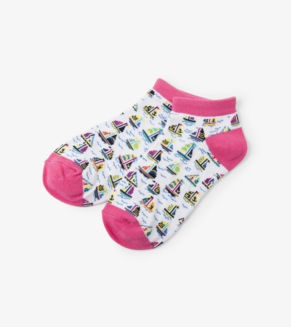 Sailboats Women's Ankle Socks