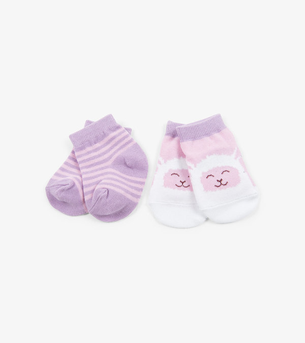 Sheep 2-Pack Baby Socks