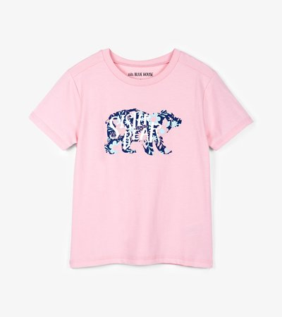 Sister Bear Kids Crew Neck Tee
