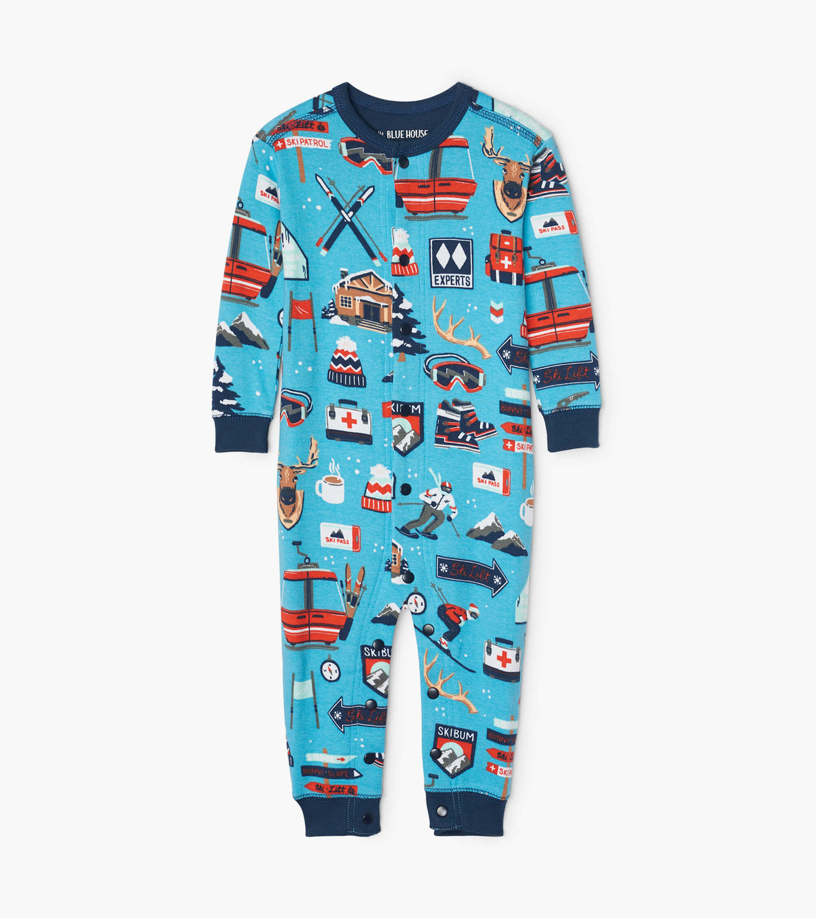 View larger image of Ski Holiday Baby Union Suit