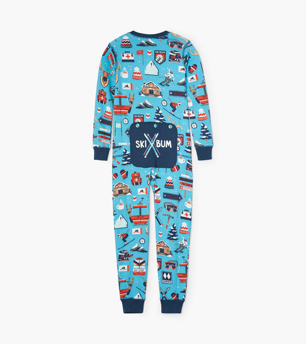 Ski Holiday Kids Union Suit