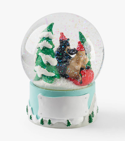 Sledding Friends Snow Globe