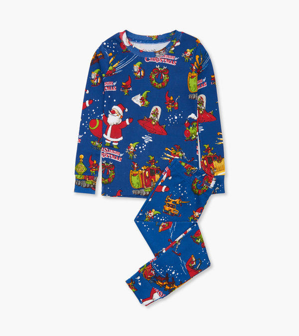 The 12 Sleighs of Christmas Pajama Set