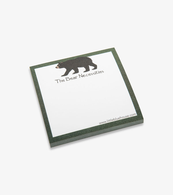 The Bear Necessities Sticky Notes