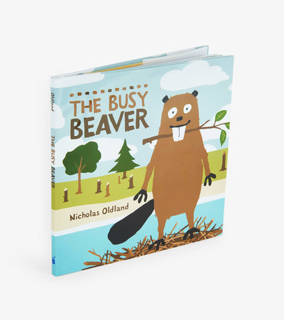 """The Busy Beaver"" Children's Book"