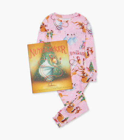 The Nutcracker Book and Pajama Set